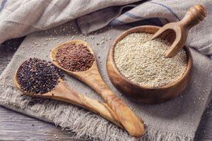 Quinoa Negra Blanca y Roja