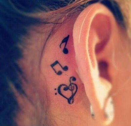 Tatuaggi Note musicali