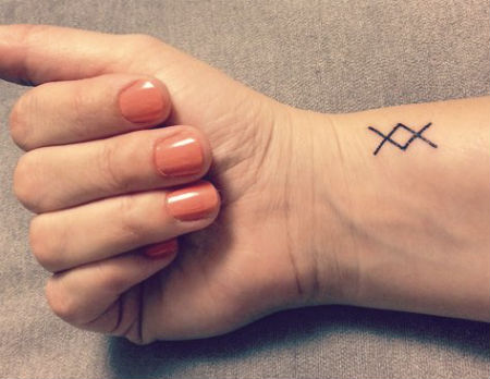 Tatuaggi Simbolo vichingo