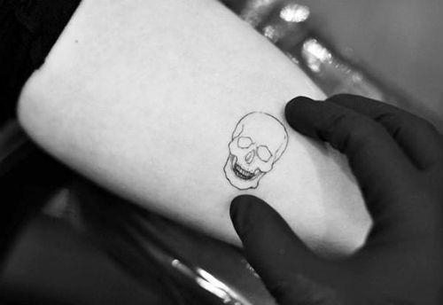 Tatuaggi teschi