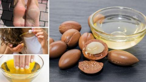 usi dell olio di argan