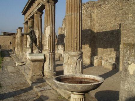 rovine archeologiche pompei
