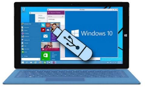formattare Windows 10 Flash USB