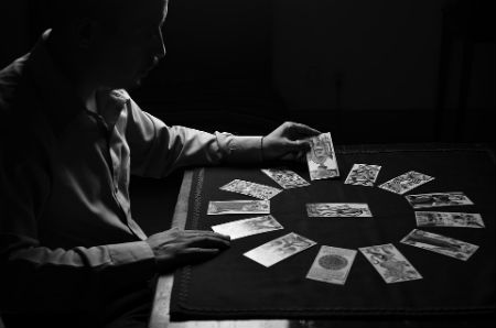 tiratura delle carte zingari